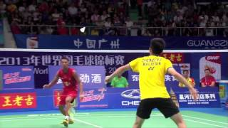 R16 - MS (Highlight) - Lin Dan vs Chong Wei Feng - 2013 BWF World Championships
