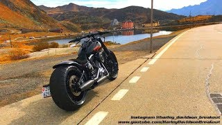Harley-Davidson Breakout Rideout to Gotthardpass 21.10.17