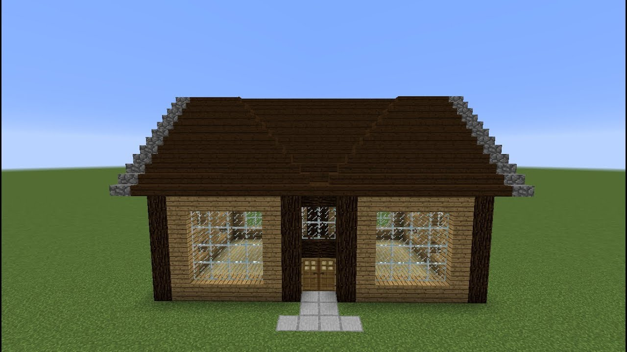 Tuto Minecraft Maison En Bois 15 Youtube