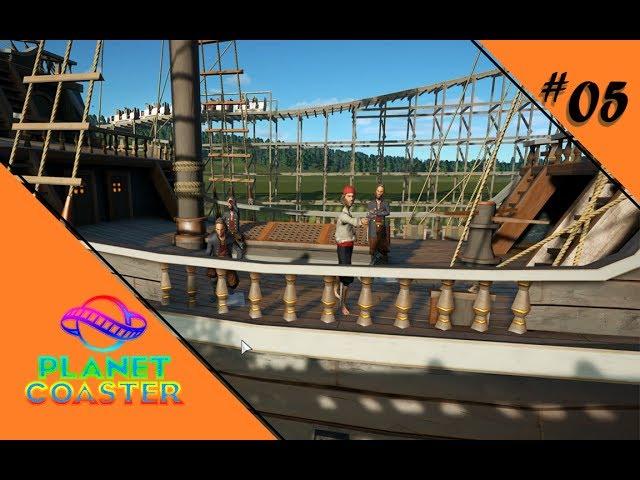 HO HO HO UND NE BUDDEL VOLL RUM 🎢 Let's Play Planet Coaster #05