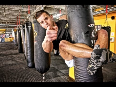 Kickboxing Heavy Bag Workout Bonus Clips With Michael Andreula Part 2