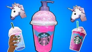 Starbucks Unicorn Frappucino Sıvı Sabunluk Yapımı - Bidünya Oyuncak