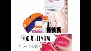 Sally Hansen Gel Nails | Product Review Thumbnail
