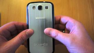 Metal Replacement Back for Samsung Galaxy S3 Review