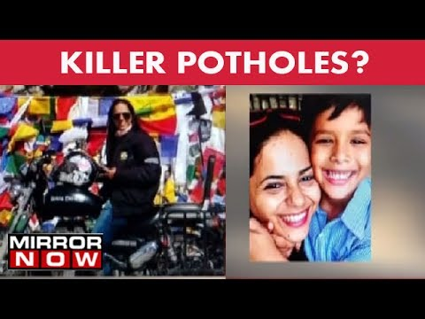 Pothole claims woman biker's life in Mumbai  - The News