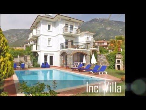 Holiday Villa for Rent Hisarönü, Turkey - Inci Villa