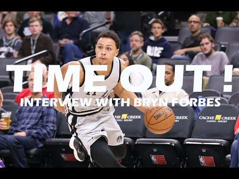 Time Out #44: Bryn Forbes on Playing for The Spurs and Coach Popovich + Giveaway Announcement!
