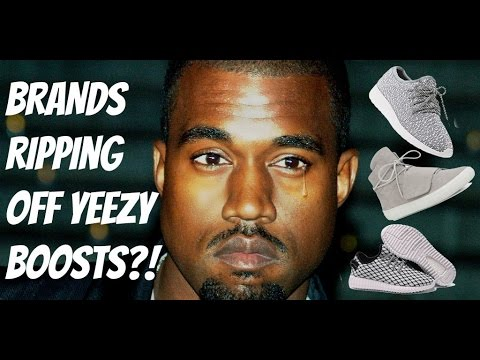1b5bba070 4 Brands Accused of Knocking Off YEEZY BOOSTS! - YouTube