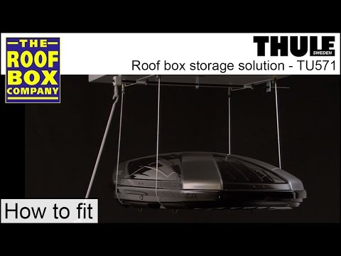 Thule Roof Box Hoist Roof Box Storage Solution Tu571
