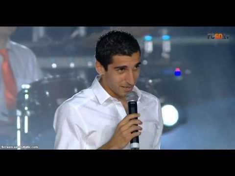 Мхитарян спел вместе с Гайтаной
