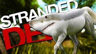 LAND SHARKS! | Stranded Deep #4