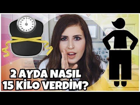 2 Ayda Nasıl 15 Kilo Verdim? | Sohbetli Makyaj