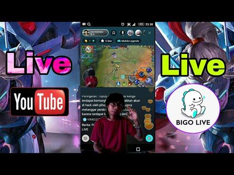 Live Streaming Di Smartphone Android - Menggunakan Layer Green Screen Apa Bisa..?? Youtube/BIGO LIVE