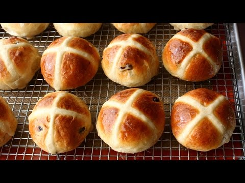 hot-cross-buns-recipe---how-to-make-hot-cross-buns-for-easter