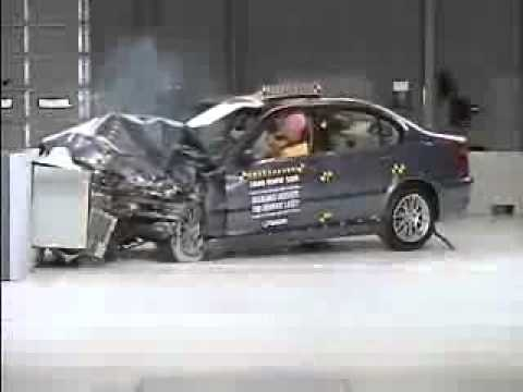 Bmw 3 Series E46 Crash Test