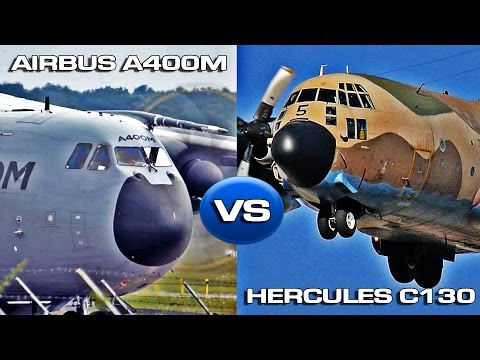 Hercules C130 VS Airbus A400M Atlas