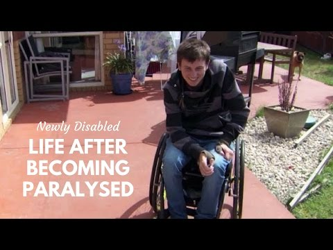Cody's Story: Life after becoming Paralysed