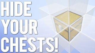 5 Ways to Hide a Chest in Minecraft!