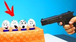 Experiment - Waffe VS Eier und mehr!