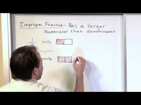 Review of Improper Fractions - 5th Grade Math