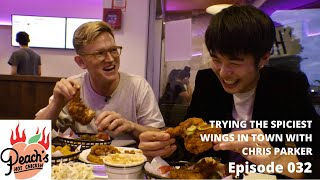 SPICY FRIED CHICKEN CHALLENGE WITH CHRIS PARKER | EATLITFOOD 032