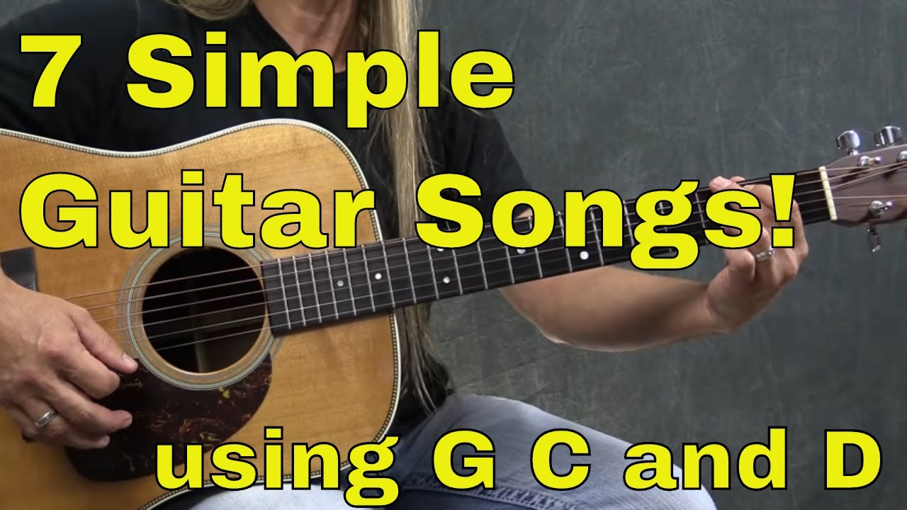 Download 7 Easy to Play Guitar Songs with 3 Guitar Chords - Steve Stine
