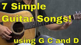 7 Easy to Play Guitar Songs with 3 Guitar Chords   Steve Stine