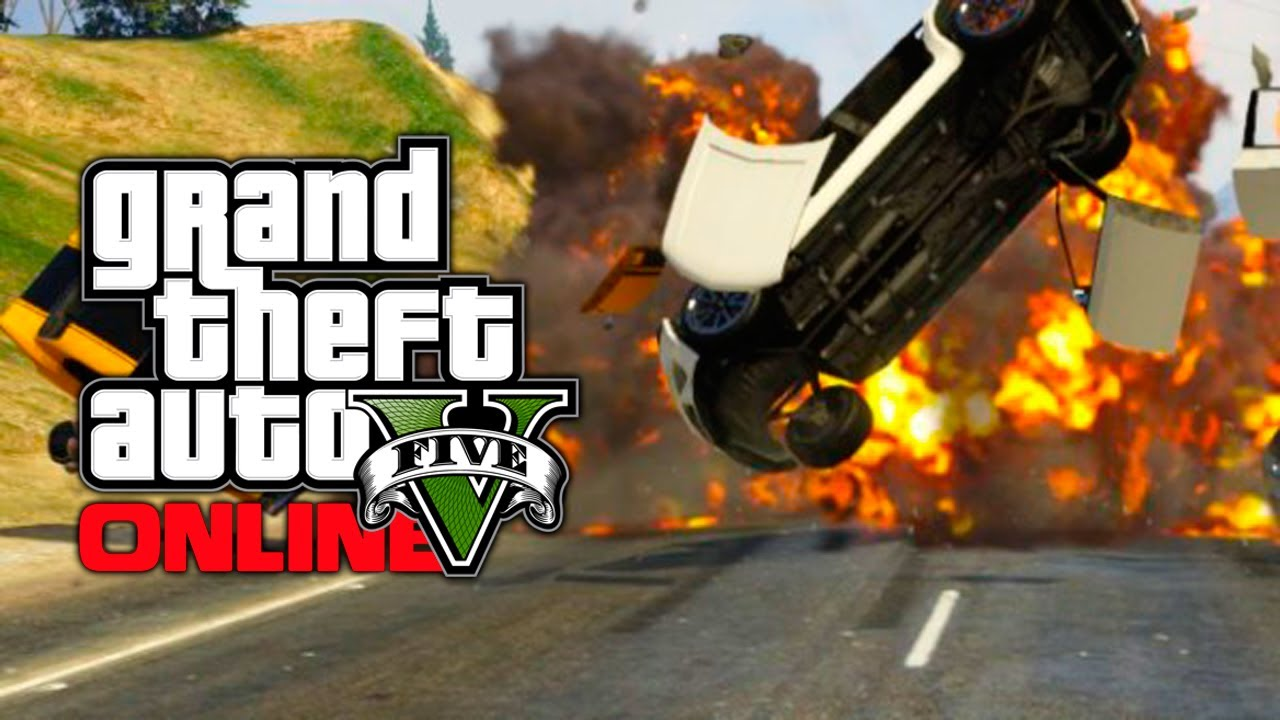 GTA 5 Online: Weird Sticky Bomb Glitch