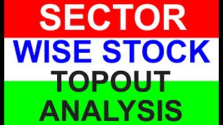 Sector Wise Stock Topout Analysis