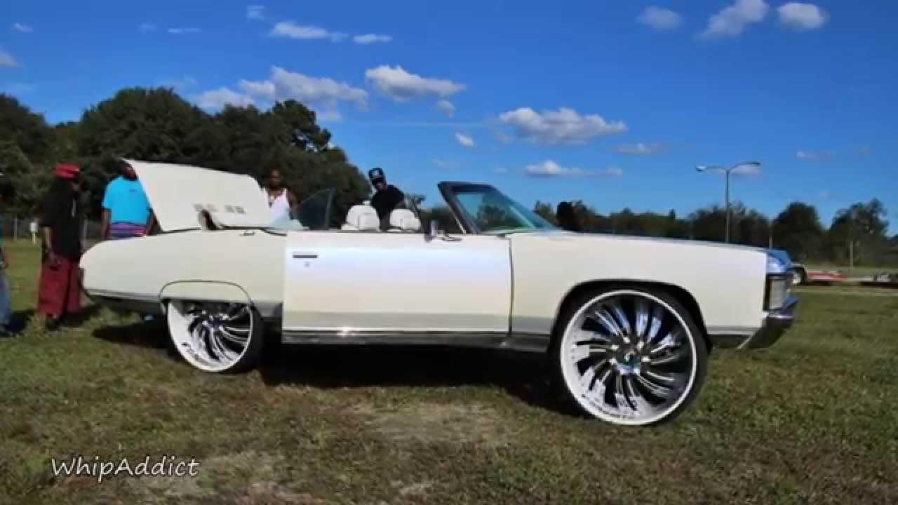 Whipaddict 71 Chevrolet Impala Convertible On Forgiato Turbinata 30s Custom Paint And Interior You