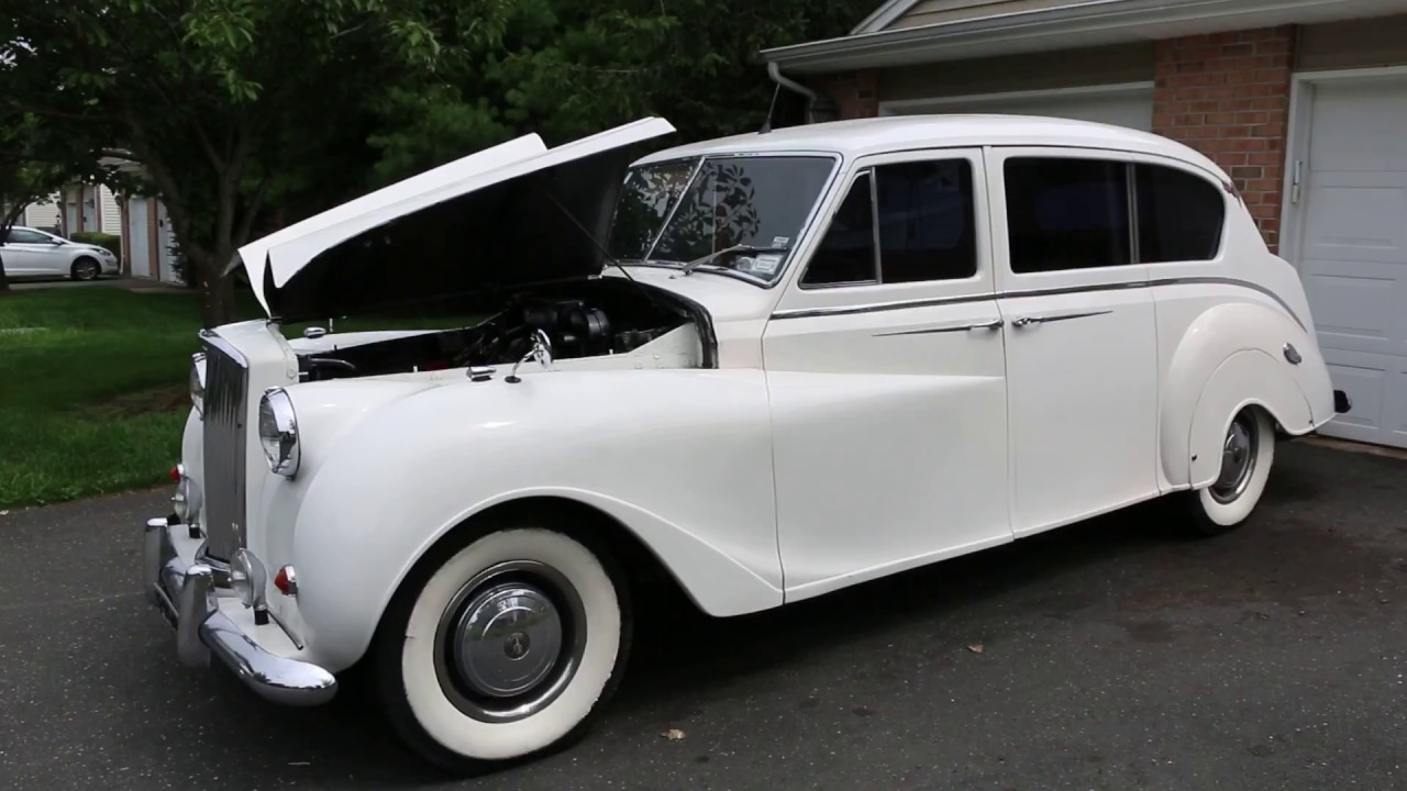 Limousine For Sale >> 1960 Austin Princess Limousine For Sale~A/C~Chevy Motor and Trans - YouTube