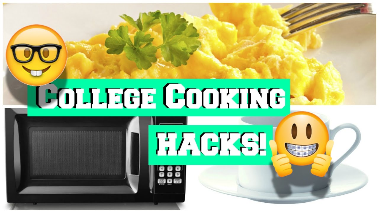 College Cooking Hack Every Student Should Know Scrambled Eggs Using Only A Microwave