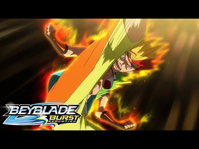 Beyblade Burst Evolution русский | сезон 2 | Эпизод 14 | Атака! Максим Гаруда!