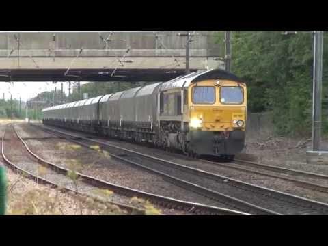 66744 working 6E94 Hunterston to Drax