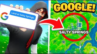 I used Google to WIN In Fortnite!