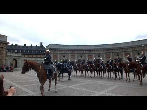 Stockholm - Amalienborg Palace Changing of the Guard