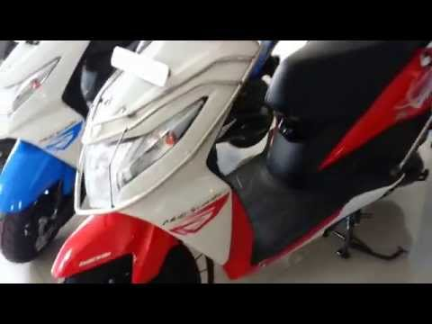 Honda Dio New colors-Sports Red,Black,Candy Palm Green,Candy Jazzy Blue