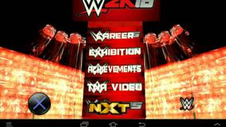 Wwe 2k16 My Career Mode(creation+tutorial)android By John Mark