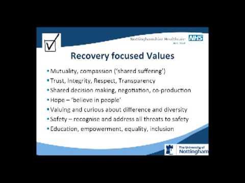 Julie Repper - School of Nursing & Midwifery Civic Engagement Strategy