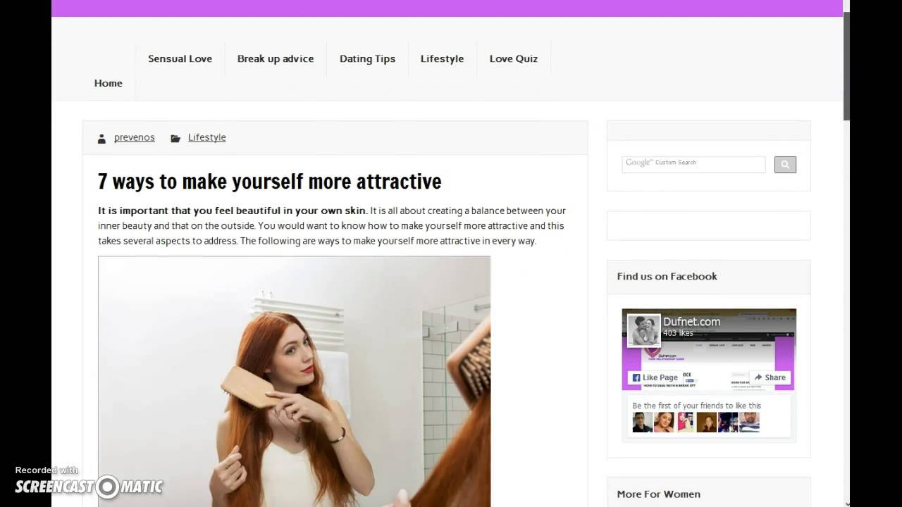 How to make yourself more beautiful How to become more beautiful - tips 45