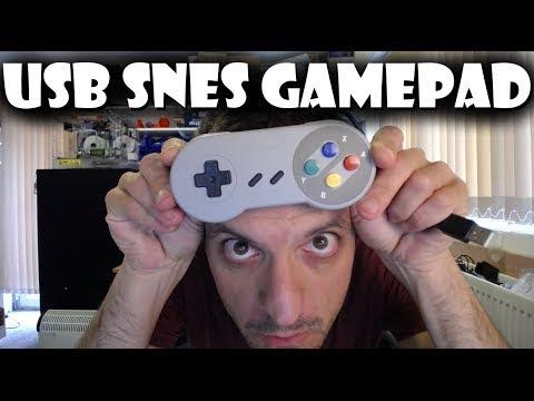 SNES Super Famicom USB PC Controller Review