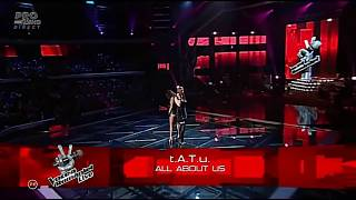 T A T U All About Us Live The Voice 2012 Remastered Audio