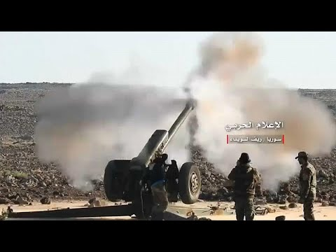 الأسد يكثف هجومه على المعارضة في درعا والمدنيون يفرون  - نشر قبل 1 ساعة