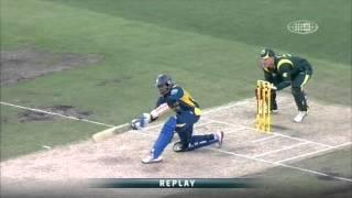 1st ODI AUS v SL - Match Wrap