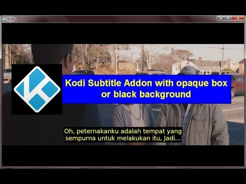Subscene com with Black Background or Opaque Box