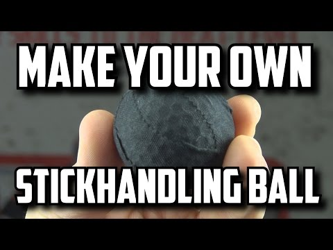 How to Make a Stickhandling Ball