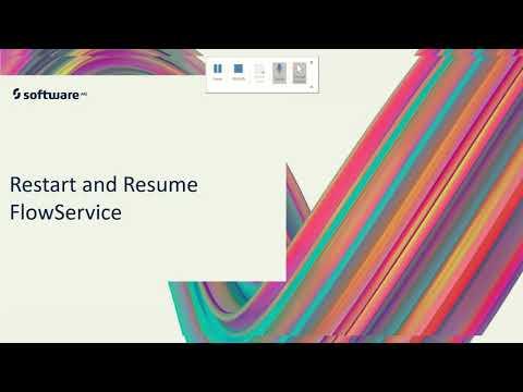 Restart and Resume FlowServices  | webMethods.io Training