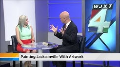 Painting Jacksonville with artwork