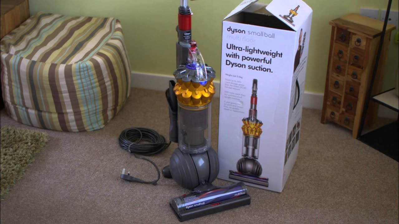unboxing the dyson small ball - youtube