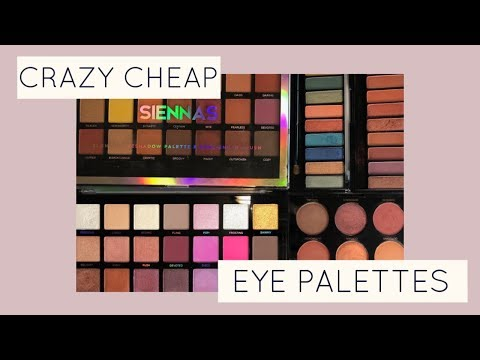 BEST $10 & Under Eyeshadow Palettes | Bailey B. thumbnail